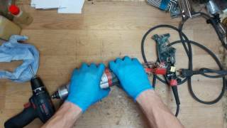 How to disassemble and find problem for Metabo KHE2851KHE 2851 rotary hammer drill sds plus