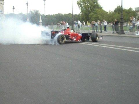 Bourdais en F1 dans paris