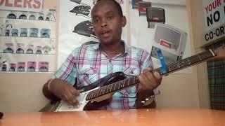 Kalinae Msanii with a friend plays Kijana Mumo song - Heko Kilunda