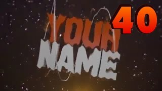 TOP 10 Blender Intro Template #40 + Free Download