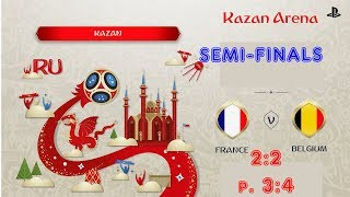 France - Belgium,  FIFA 18 World Cup 2018 Russia Prediction Games (Semi-Finals)