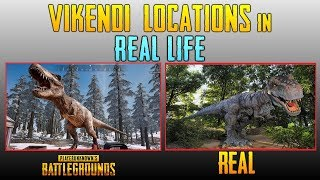 PUBG Places in REAL LIFE | Vikendi Real Life Locations