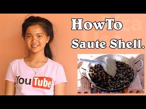 New Recipe from Liza - How to saute SHELL   Liza'Style