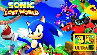 SONIC LOST WORLD All Cutscenes 4K (Game Movie)  60FPS Ultra HD