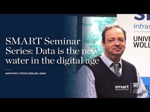 SMART Seminar Series: Data is the new water in the digital age
