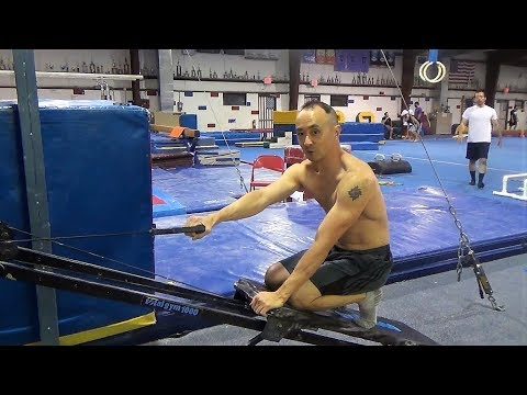 SINGLE ARM TWISTING CABLE ROW ON THE TOTAL GYM - Gymnastics Fitness and Bodybuilding Workouts