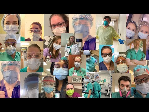 A Tribute To Our Carolinas College Healthcare Heroes