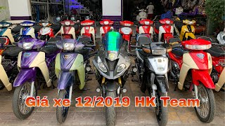 Cập nhật giá các dòng xe 2 thì tại HK Team tháng 12/2019 | MKT