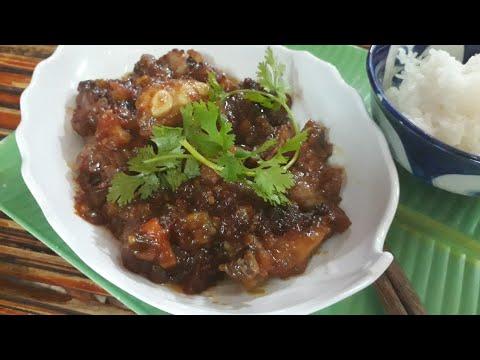 Cách làm SƯỜN SỐT CHUA NGỌT với cà chua cực ngon hấp dẫn