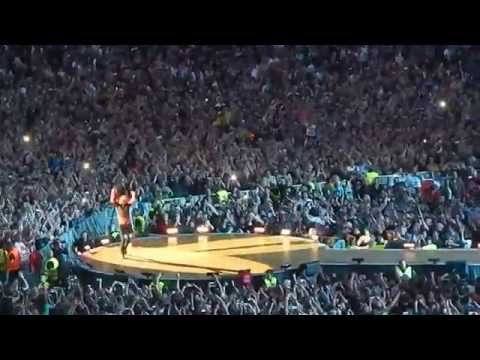 Mick Jagger live performance in Vienna 16 June 2014