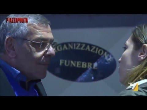 Quarto e l'imprenditore delle pompe funebri - Piazza Pulita 14 gennaio 2016