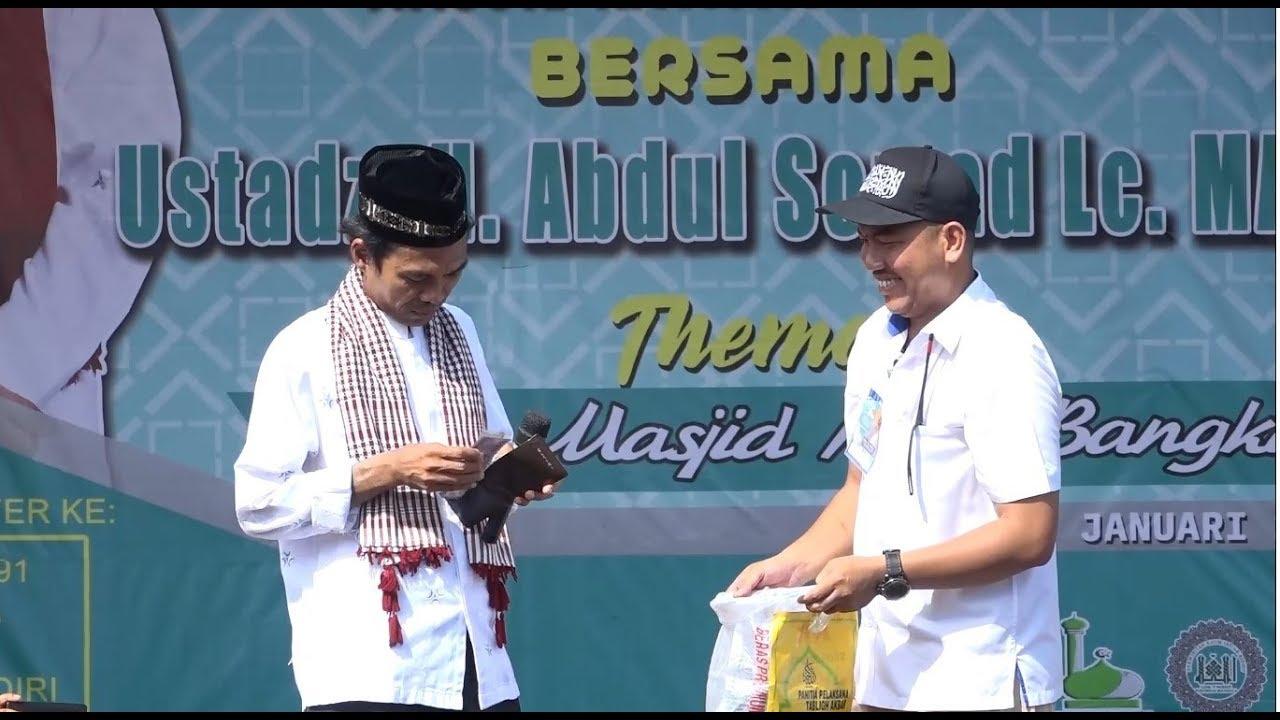 USTADZ H. ABDUL SOMAD Lc. MA   Perumnas Mandala   02 ...