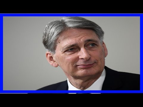 Theresa may warned of tory mp's support for philip hammond |UK News TV