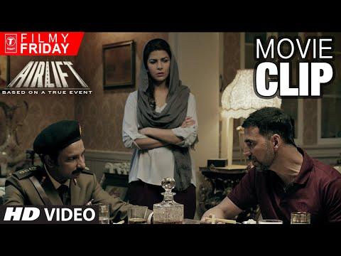 AIRLIFT MOVIE CLIPS 10 - Akshay Kumar Terrifies IRAQI Major
