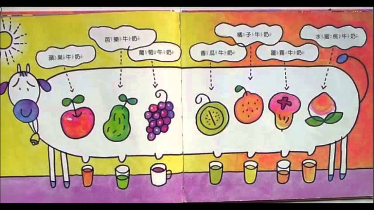 白皮叔叔說故事-愛吃水果的牛 - YouTube