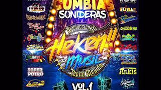 Gambar cover CUMBIAS SONIDERAS 2019 - producciones heken record.s