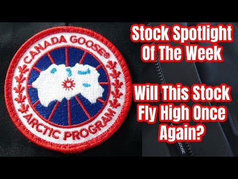 Canada Goose | Will This Stock Fly High Once Again?