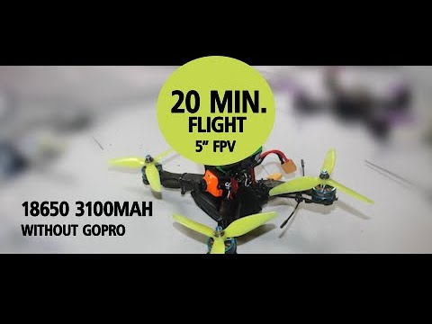 "Фото 20 minutes of flight 5"" fpv drone 
