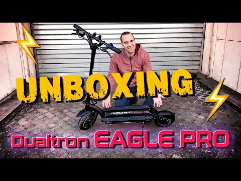 UNBOXING DUALTRON EAGLE PRO TROTTINETTE ELECTRIQUE