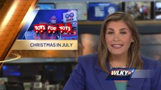 Toys For Tots, Louisville Bats Team Up For Christmas In July