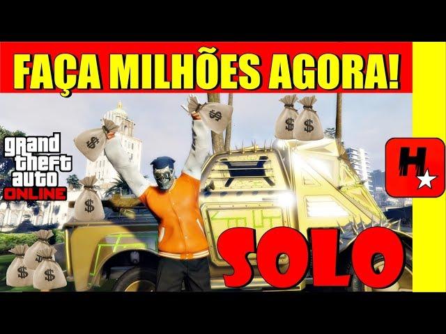 GTA V Online - BUG Dinheiro Infinito SOLO