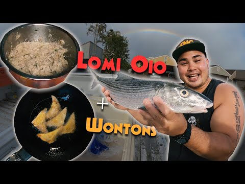 Ono Lomi Oio (BoneFish) & Wontons! +Opihi - Clean and Cook F