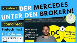 Comdirect Broker / Aktiendepot Test + Erfahrung - Mein Investmentfonds Echtgelddepot