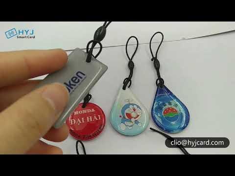 RFID Epoxy Key Tag -- Haoyinjia Smart Card