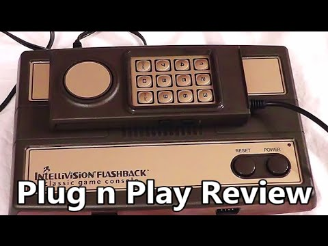 Intellivision Flashback Plug n Play System Review (Dollar General Version) The No Swear Gamer Ep 93
