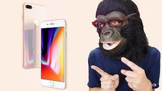 iPhone8開封レビュー!iPhone7と性能を比較したら意外な結果に!【iPhoneXも買います】