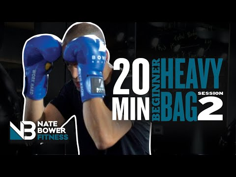 Ultimate 20 Minute Beginner Heavy Bag Workout All Boxing Session 2