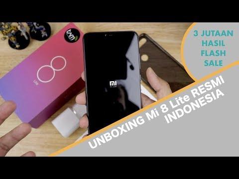 Unboxing Hape 3 Jutaan | Unboxing Xiaomi Mi 8 Lite Hasil Flash Sale