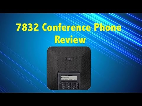 7832 Cisco Conference Phone Overview