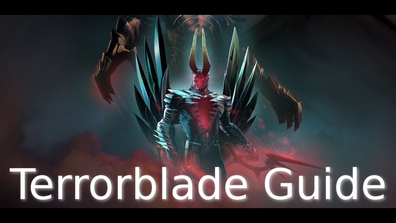 Dota 2 Terrorblade Guide How To Farm Efficiently Gameplay Commentary YouTube