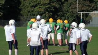 Lynden 7th grade football Trey to Scooter for Touchdown