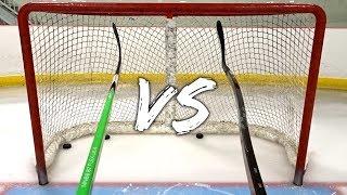 STRAIGHT vs BENT Hockey Stick Review