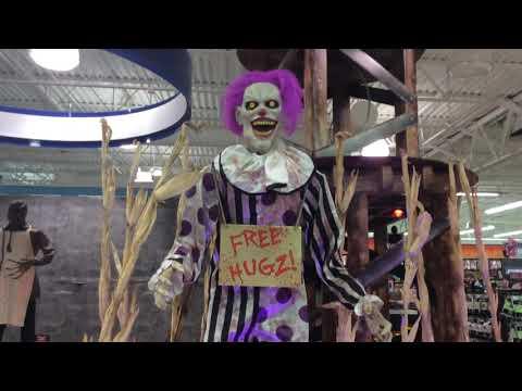 spirit halloween hugz the clown you