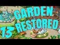 HOMESCAPES Gameplay Story Walkthrough Video | Garden Restored Area Day 6
