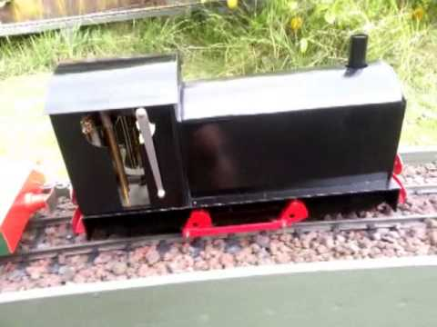 Diesel Outline Steam Locomotive
