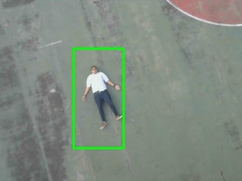 People Detection using Drone