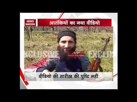 A video featuring 18 terrorists from Lashkar-e-Taiba and Hizb-ul-Mujahideen