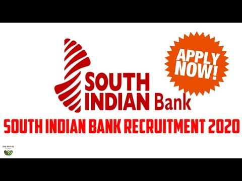 South Indian Bank Recruitment 2020 || Salary 45950 || Apply Now || JOB_PORTAL Daily Job Update News