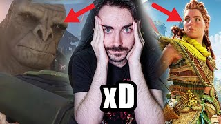 Horizon Forbidden West vs Halo Infinite: La comparativa INNECESARIA 🤷♀️