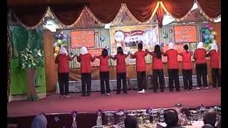 مسرحية تتحدث عن مصر حفل تكريم فائقات الإعدادية 2011 2012