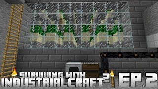 Surviving With IndustrialCraft 2 :: Ep.2 - Infinite Power Generation Using Cactus