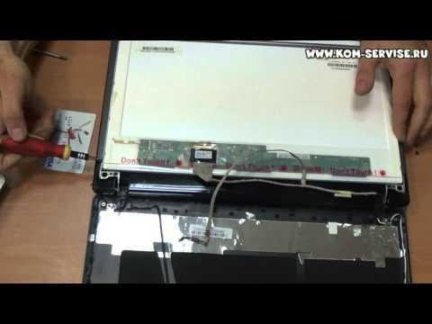 Замена матрицы Acer 5750