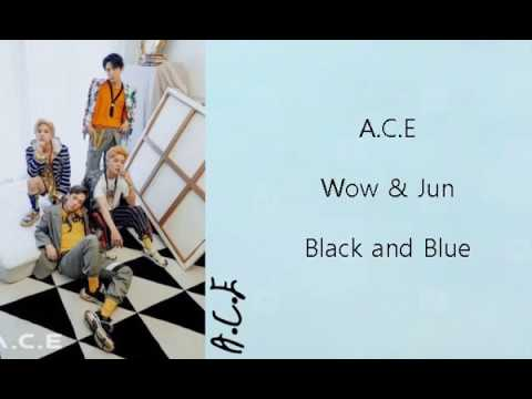 Black and Blue - A.C.E Lyrics