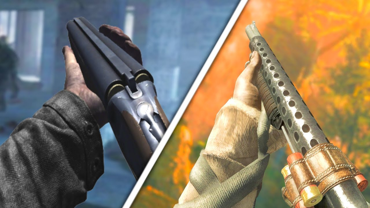 History of COD Zombies Shotguns