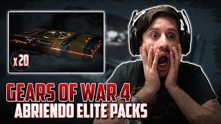 Gears of War 4 | Abriendo 20 Elite Packs | Nuevo Contenido!!