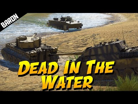 War Thunder Gameplay PT-76 Amphibious Assaults (War Thunder